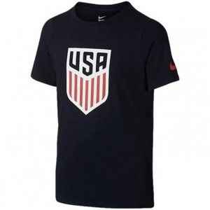 BRAND NEW! Nike Youth USA Crest Tee Shirt - Blue